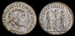 Ancient Coins - Diocletian Antoninianus - CONCORDIA MILITUM - Antioch Mint