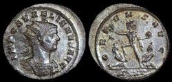 Ancient Coins - Aurelian Antoninianus - ORIENS AVG - Ticinum Mint