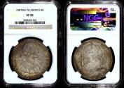 World Coins - 1807 Mo-TH Mexico 8 Reales NGC VF35