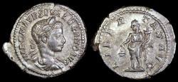 Ancient Coins - Severus Alexander Denarius - LIBERTAS AVG - Rome Mint