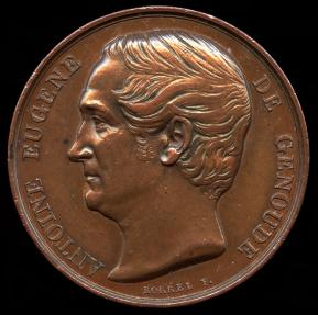 World Coins - 1849 France – Antoine Eugene de Genoude – Supporting Universal Suffrage: by Alfred Borrel