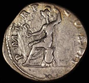 Ancient Coins - Hadrian Denarius - P M TR P COS III - Rome Mint