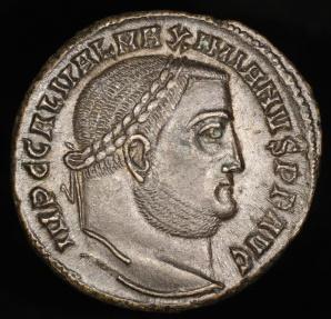 Ancient Coins - Galerius Follis - GENIO IMPERATORIS - Alexandria Mint