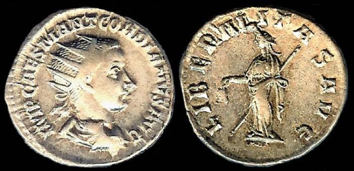 Ancient Coins - Gordian III Antoninianus - LIBERALITAS AVG - Antioch Mint
