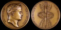 World Coins - 1805 France - Napoleon - The Battle of Austerlitz by Jean-Bertrand Andrieu and Louis Jaley