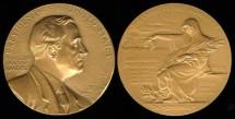 1945 Franklin Delano Roosevelt - US Mint Medal