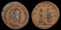 Ancient Coins - Valerian Antoninianus - PIETAS AVGG - Uncertain Syrian Mint
