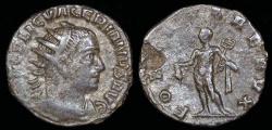 Ancient Coins - Valerian I  Billon Antoninianus - FORTVNA REDVX - Antioch Mint