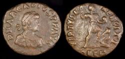Ancient Coins - Arcadius Ae2 - VIRTVS EXERCITI - Alexandria Mint