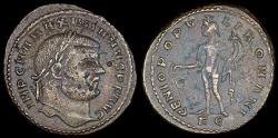 Ancient Coins - Maximianus Ae Follis - GENIO POPVLI ROMANI - Cyzicus Mint