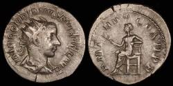 Ancient Coins - Gordian III Antoninianus - P M TRP V COS II P P - Rome Mint