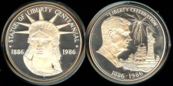 Us Coins - 1986 US – Statue of Liberty Centennial - Reagan