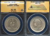 "World Coins - 1929 A Weimar Republic 5 Reichsmark ""Constitution Commemorative"" ANACS AU55"