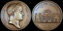 World Coins - 1806 France - Napoleon - Entry into Madrid by Nicolas Guy Antoine Brenet and Dominique-Vivant Denon