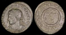 Ancient Coins - Crispus Follis - CAESARVM NOSTRORVM - Thessalonica Mint