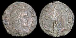 Ancient Coins - Constantius I 1/4 Follis - GENIO POPVLI ROMANI - Siscia Mint