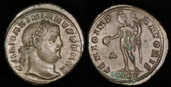 Ancient Coins - Galerius Ae Follis - GENIO IMPERATORIS - Cyzicus Mint