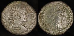 Ancient Coins - Caracalla Ae27 - V FL OVLPIANOV MARKIANOPOLEITWN - Markianopolis Mint