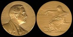 Us Coins - 1945 Franklin Delano Roosevelt - US Mint Medal