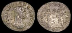Ancient Coins - Florian Antoninianus - CONCORDIA MILITVM - Cyzicus Mint