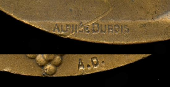 World Coins - 1926 France – Paris – Agricultural Competition Prize Medal – Equine Studs by Alphaeus Dubois