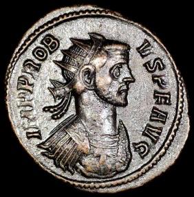 Ancient Coins - Probus Antoninianus - ADVENTVS AVG - Rome Mint