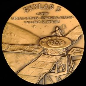 US Coins - 1975 US – Skylab 3 Commemorative Medal