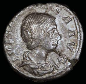 Ancient Coins - Julia Maesa  Denarius - PVDICITIA - Rome Mint