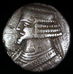 Ancient Coins - Phraates IV Tetradrachm (29-27 BC) - Seleucia Mint