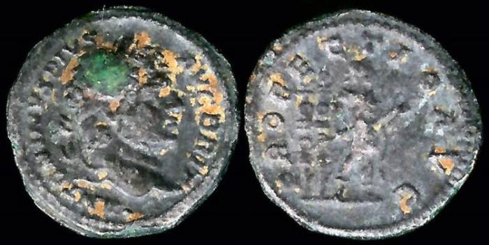 Ancient Coins - Caracalla Denarius - PROFECTIO AVG - Rome Mint