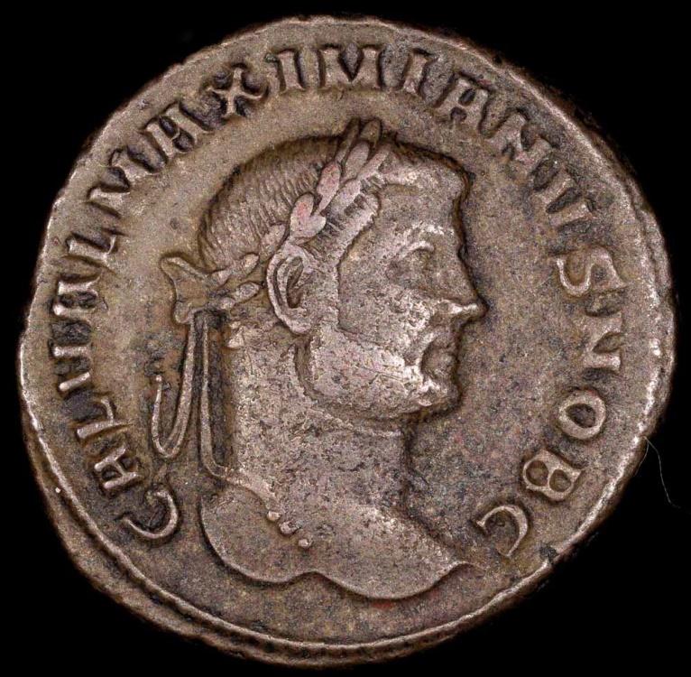 Maximianus Follis - GENIO POPVLI ROMANI - Aquileia Mint