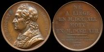 "World Coins - 1818  France - Andre Modeste Gretry, French composer, by Raymond Gayrard from the series of ""Grands Hommes Francais""."