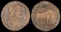 Ancient Coins - Julian II Ae1 - SECVRITAS REIPVB - Siscia Mint