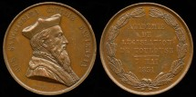 World Coins - 1851 France – Toulouse Academy of Legislation by Joseph Dantzell