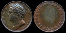 World Coins - 1850  France - Leopoldo Giovanni Giuseppe Michele of Bourbon-Two Sicilies, Prince of Salerno by Jean-Auguste Barre