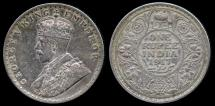 World Coins - 1917 (b) India (British) 1 Rupee AU