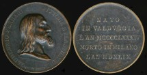 World Coins - 1825 Italy: Gaudenzio Ferrari commemorative medal