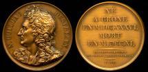 "World Coins - 1817  France - Nicolas Boileau-Despréaux, French poet and critic by Francois-Augustin Caunois; from the series of ""Grands Hommes Francais""."