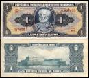 World Coins - 1944 Brazil 1 Cruzeiro - Joaquim Marques Lisboa - UNC