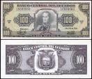 World Coins - 1986 Ecuador 100 Sucres - Simon Bolivar - UNC