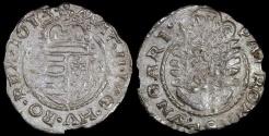 World Coins - 1613 KB Hungary 1 Denar - Mathias II - AU Silver