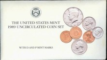 Us Coins - 1989 US Mint Set