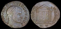 Ancient Coins - Maxentius Ae Follis - CONSERVVRB SVAE - Ticinum Mint