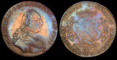 World Coins - 1745 Italy - Francis I of France, Co-Regent of the Grand Duchy of Tuscany by Peter Paul Werner