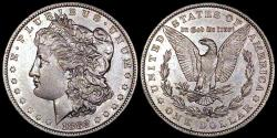 Us Coins - 1882o Morgan Dollar