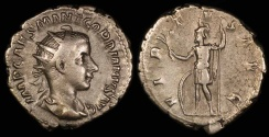 Ancient Coins - Gordian III Antoninianus - VIRTVS AVG - Rome Mint
