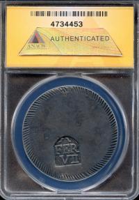 World Coins - 1808 Spain (Gerona Province) 5 Peseta (1 Duro) ANACS EF40