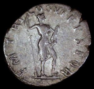 Ancient Coins - Trajan Denarius - P M TR P COS VI P P SPQR - Rome Mint