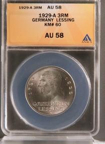 World Coins - 1929 A Weimar Republic 3 Reichsmark