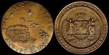 Us Coins - 1959 US: Hawaii Statehood Medal